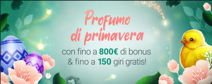 1bet casinò bonus e free spins - primavera 2021